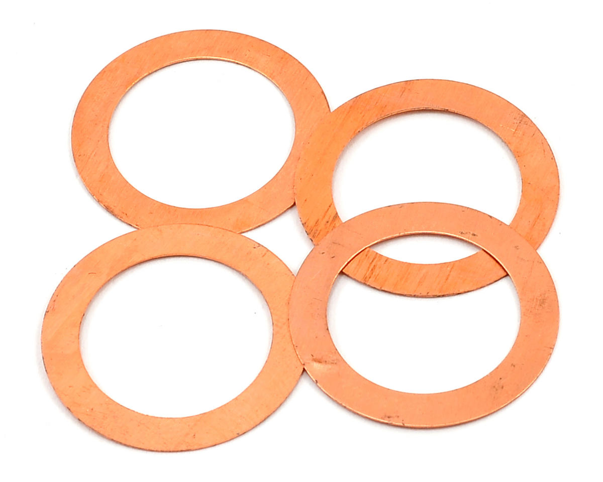 REDS Racing 0.2mm Head Shim (4) (Reds Engines R5T)