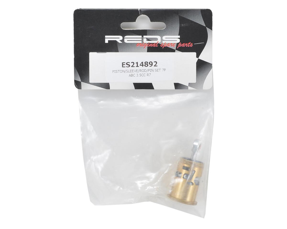 REDS Racing Complete Piston, Sleeve & Conrod Set (R7 Evoke)
