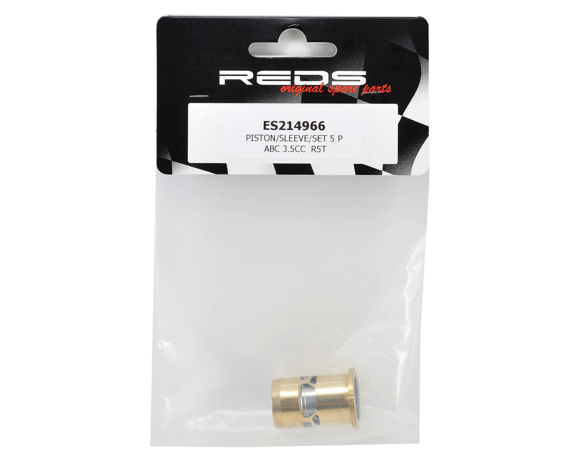 "REDS Racing R5T ""Tuned"" Piston & Sleeve Set"