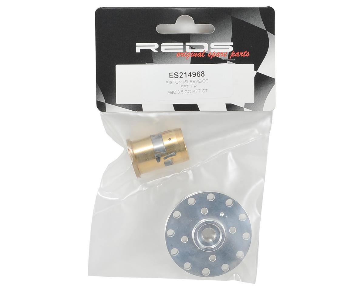 REDS M7T GT 7P Piston, Sleeve & Head Button Set