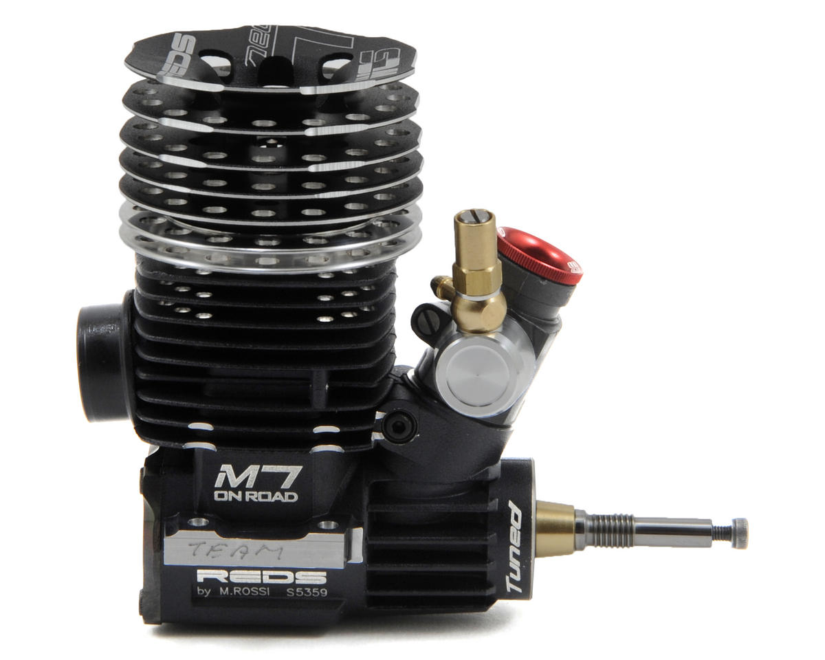 REDS Racing M7WCS .21 7-Port World Cup Series Tuned On-Road Engine (Turbo Plug)