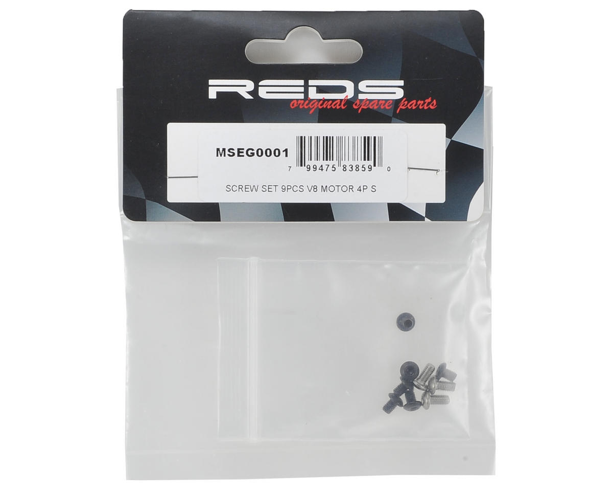 REDS Racing V8 Motor Screw Set