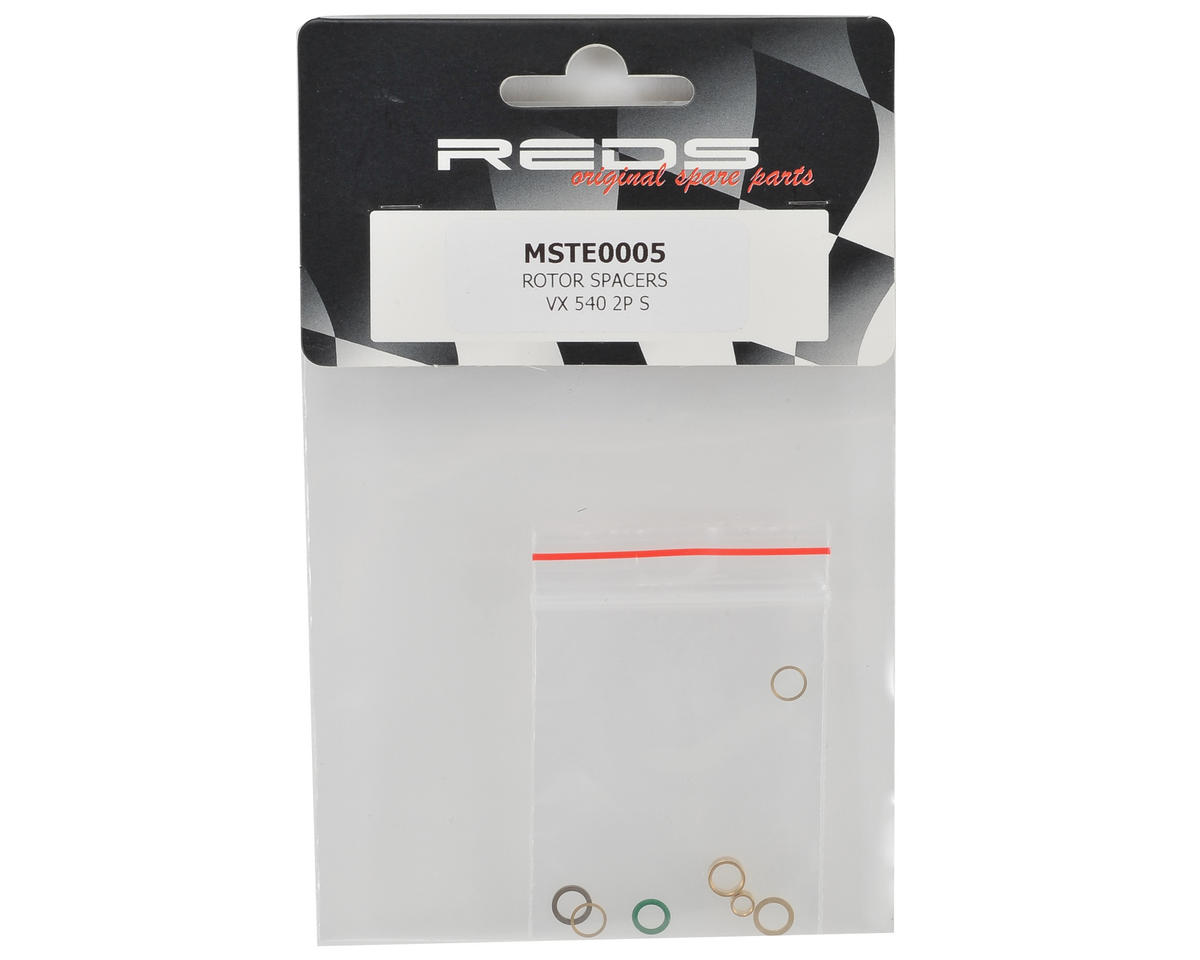 REDS Racing VX 540 Rotor Spacer Kit