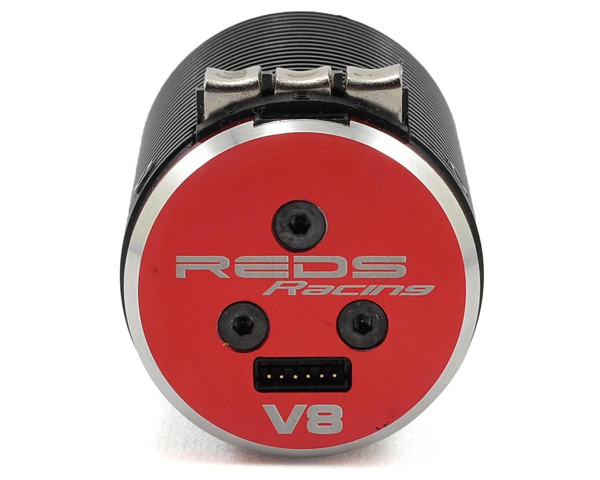 REDS Racing V8 4-Pole Sensored 1/8 Scale Brushless Motor (1900kV)