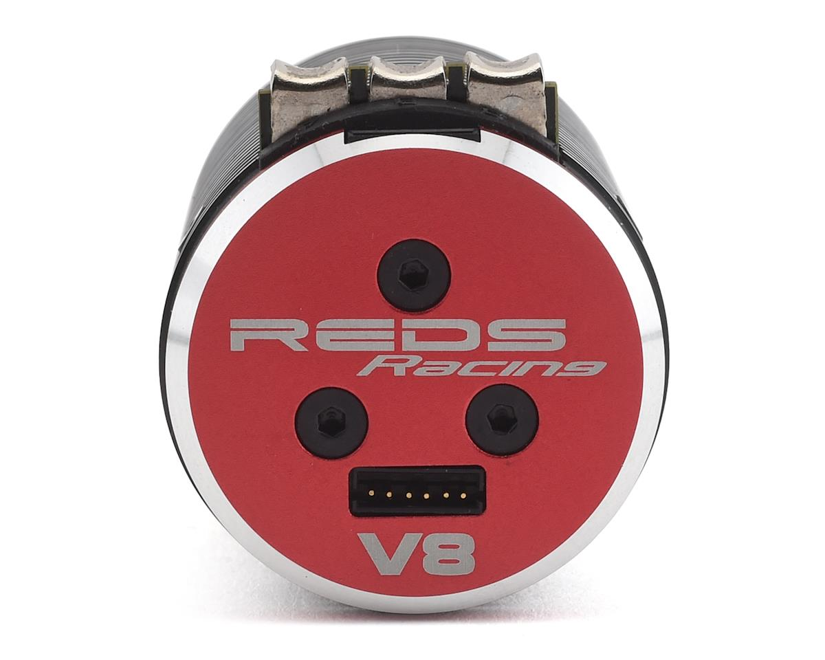 REDS V8 Gen 2 4-Pole Sensored 1/8 Brushless Motor (2800kV)