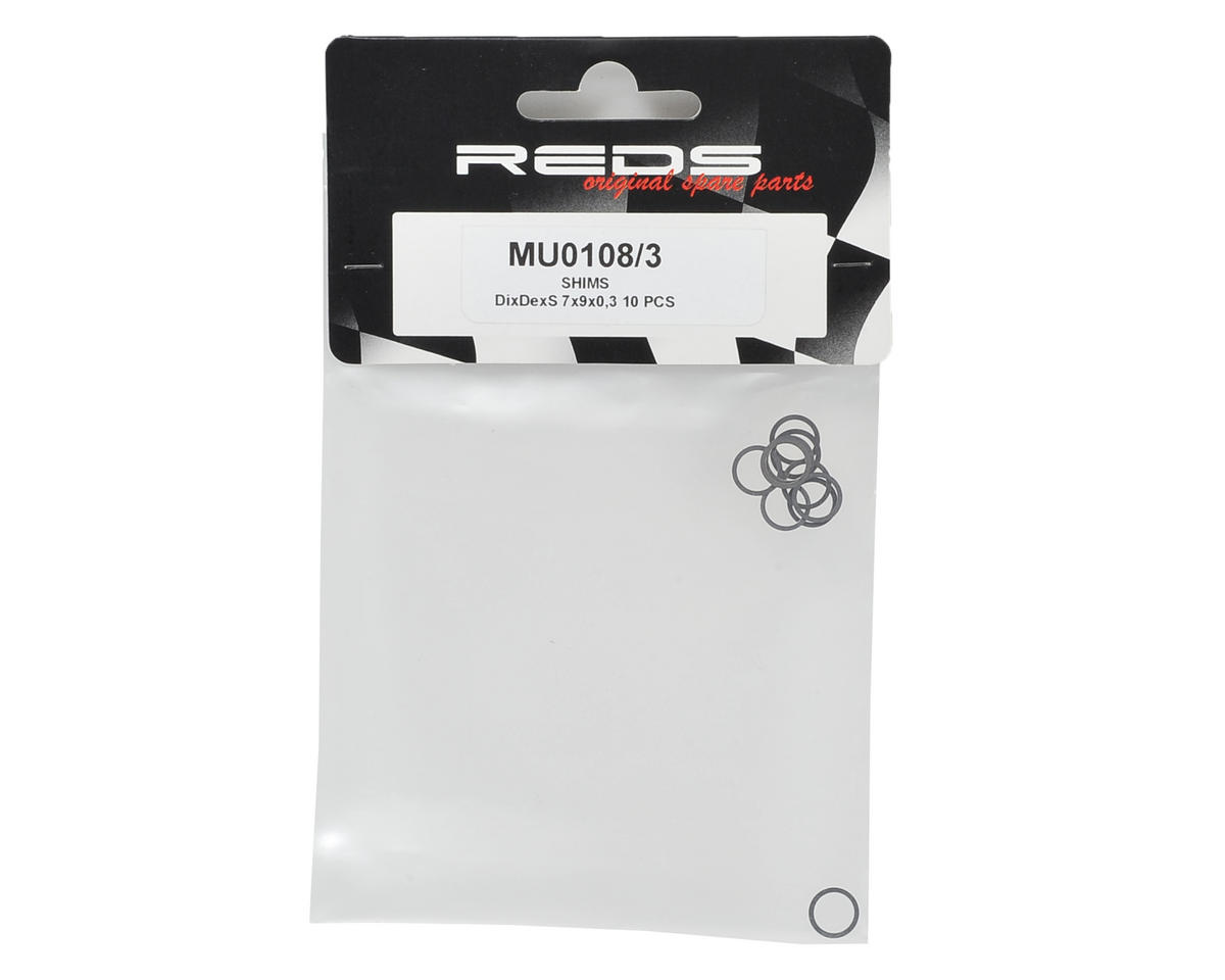 REDS Racing 7x9x0.3mm DixDexS Clutch Shim (10)