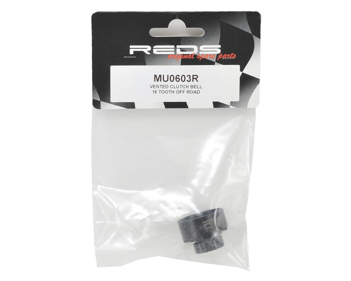 REDS 1/8 Off Road Vented Clutch Bell (16T)