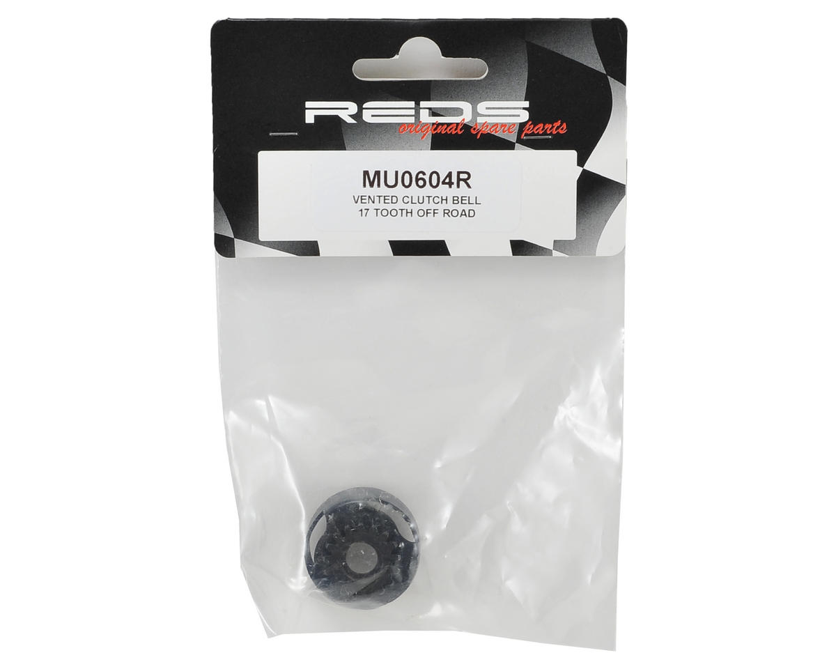 REDS Racing 1/8 Off Road Vented Clutch Bell (17T)