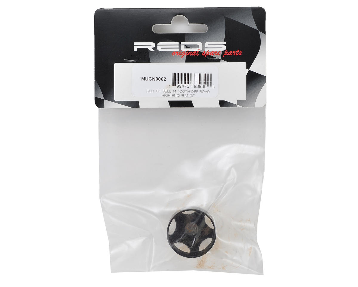 REDS Racing Durabell 1/8 Off-Road Durabell Vented Clutch Bell (14T)