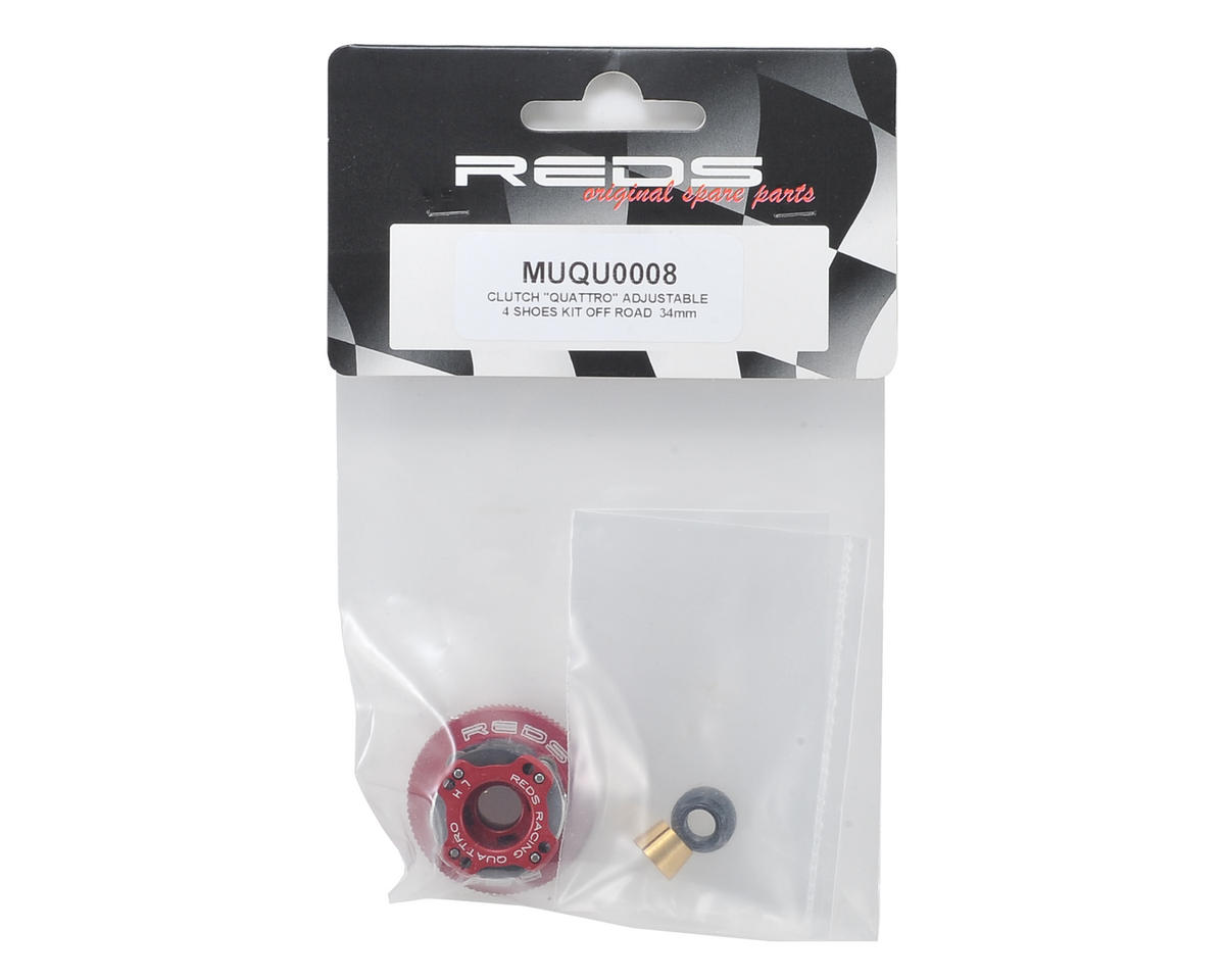 "REDS Racing 34mm Off-Road ""Quattro"" Adjustable 4-Shoe Clutch System"