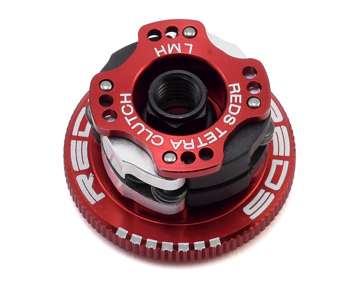 "REDS 32mm Off-Road V2 ""Quattro"" Adjustable 4-Shoe Clutch System (Team Associated RC8B3.1)"