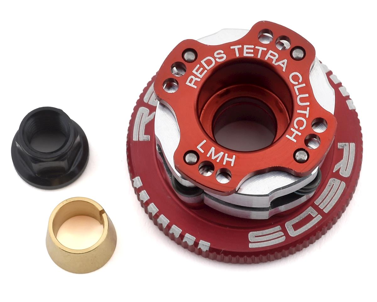 "REDS 34mm Off-Road ""Tetra"" V2.1 Adjustable 4-Shoe Clutch System (Red)"