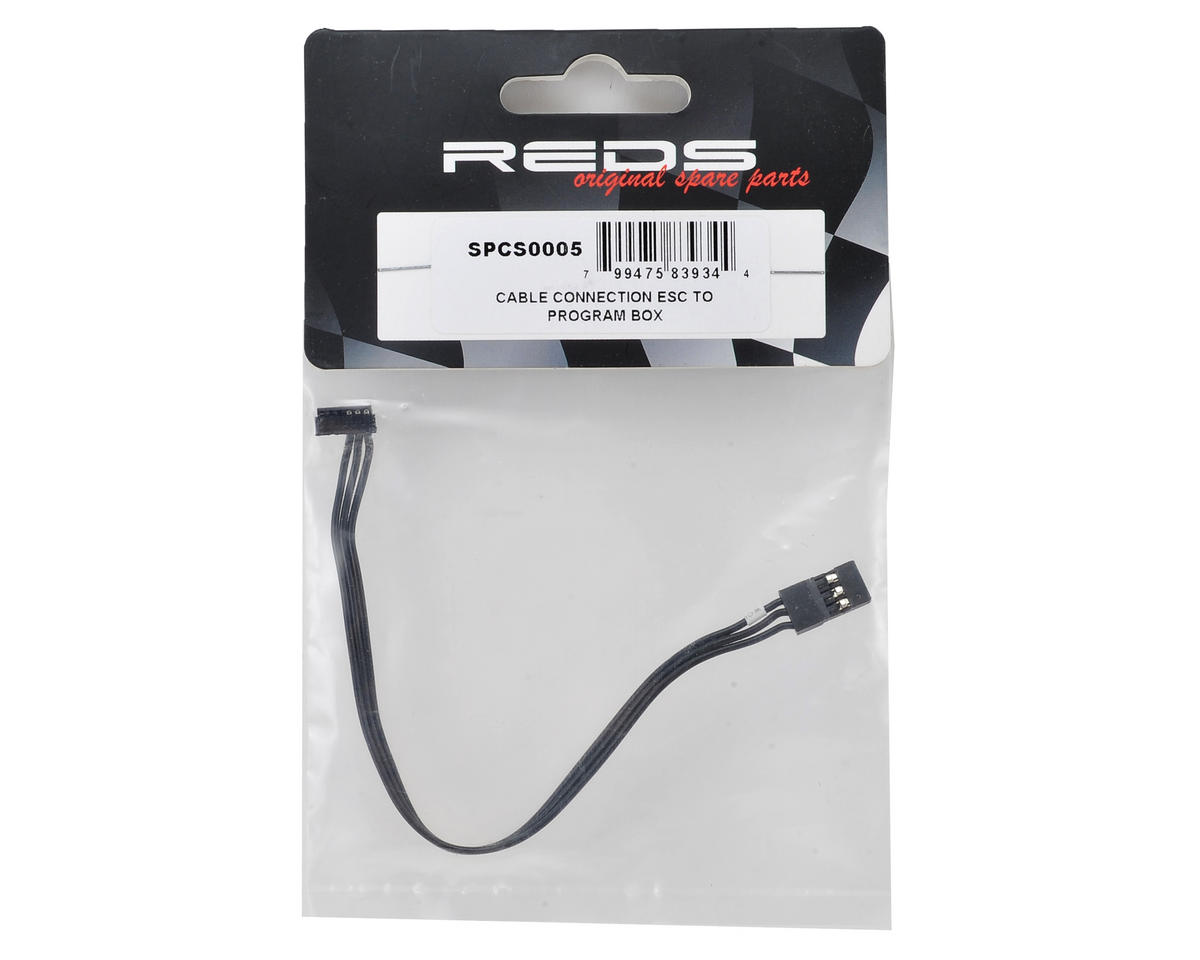 REDS RPB LCD ESC Program Box Connection Cable