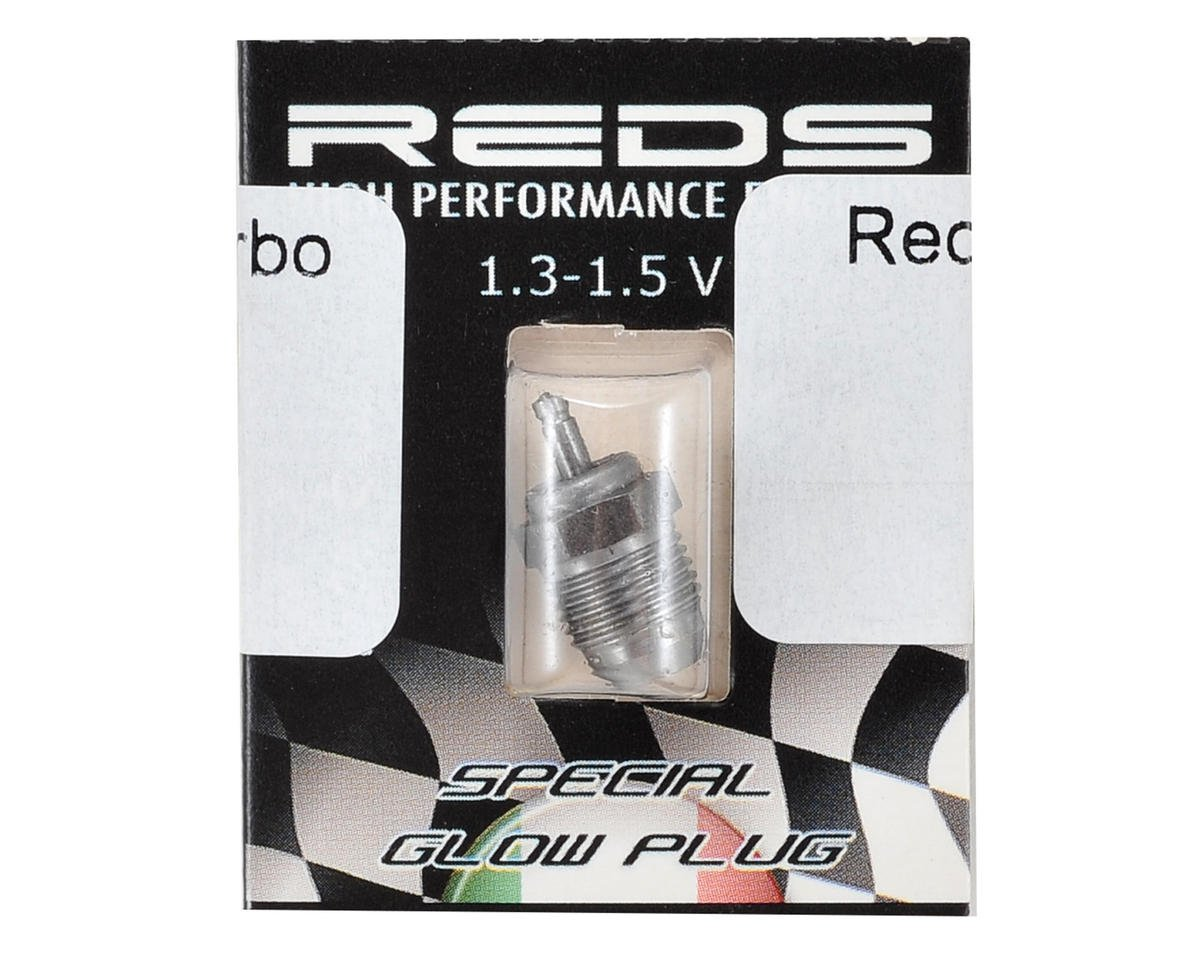 REDS T6F #6 Inox Turbo On Road Glow Plug (Cold)