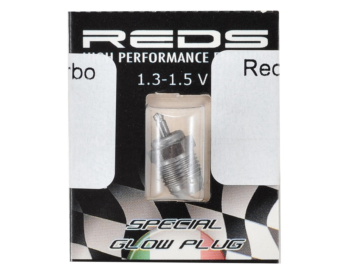 T6F #6 Inox Turbo On Road Glow Plug (Cold) by REDS