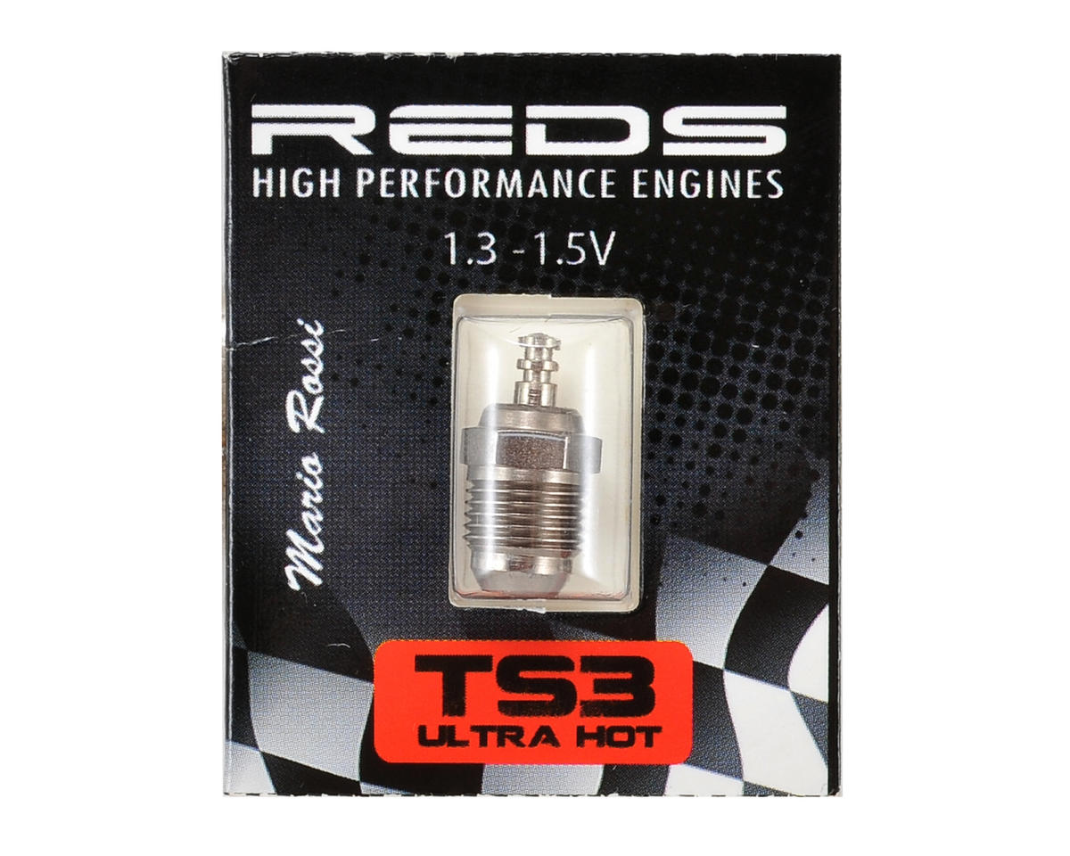 REDS Racing TS3 Turbo Special Off-Road Glow Plug (Ultra Hot) (Reds Engines R5T)