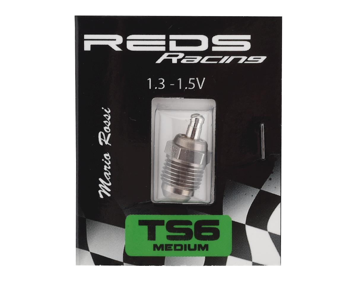 REDS TS6 #6 Inox Turbo On Road Glow Plug (Cold)
