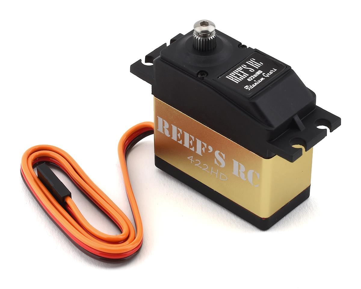 Reefs RC 422HD High Torque Titanium Gear Digital Servo (High Voltage)
