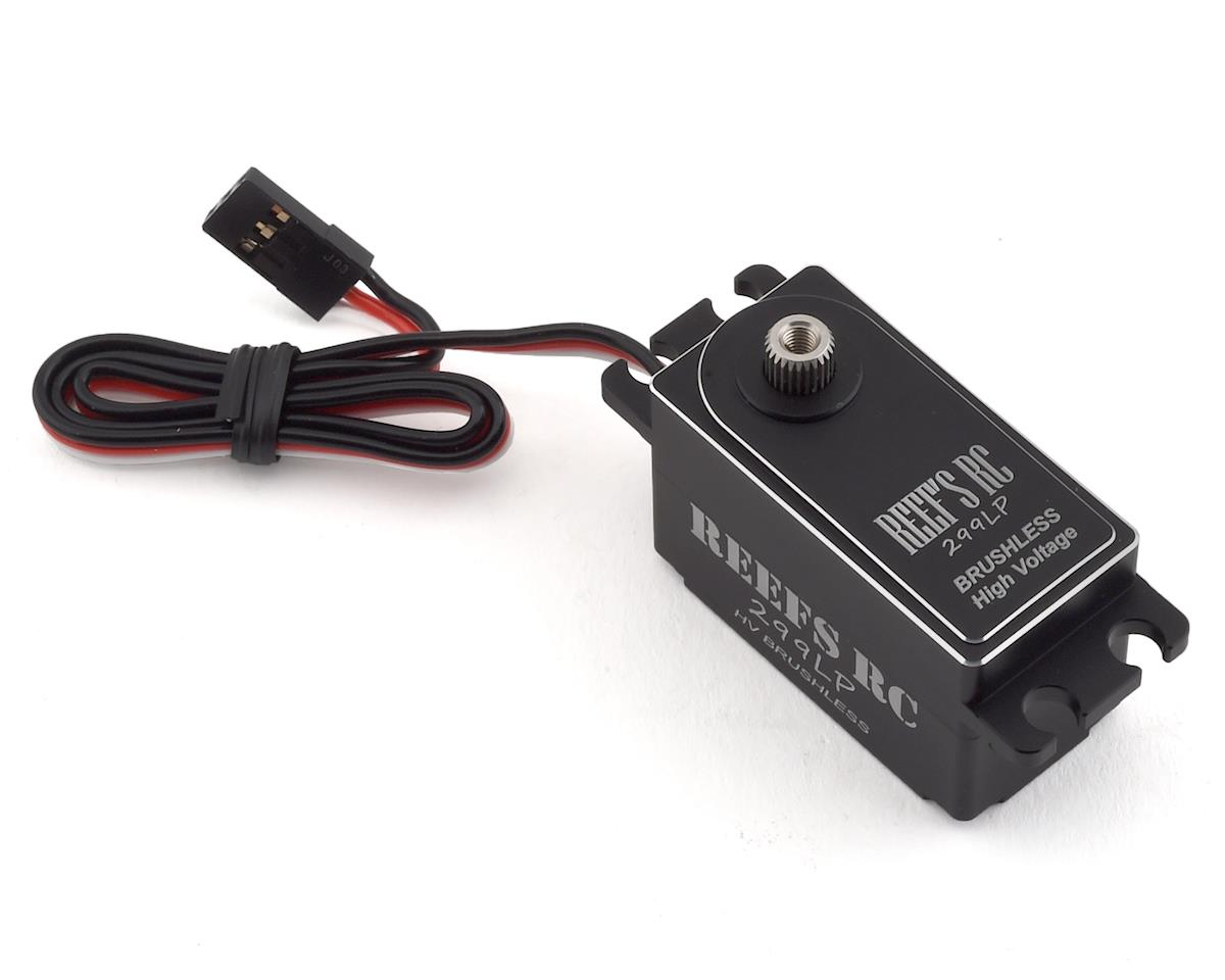 Reefs RC 299LP High Torque/Speed Brushless Low Profile Servo (High Voltage)