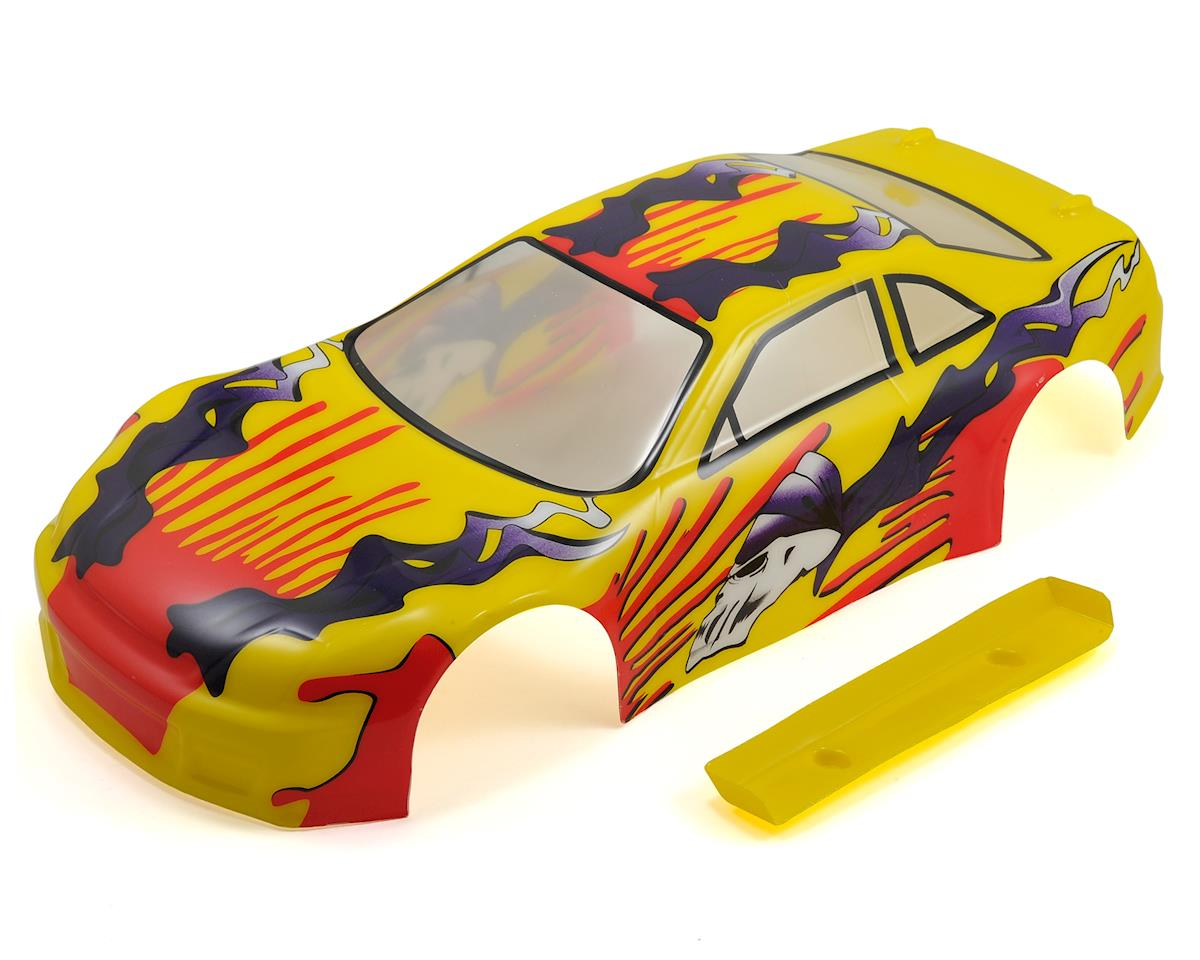Redcat Racing 1/10 200mm Sedan Body (Yellow Flame)