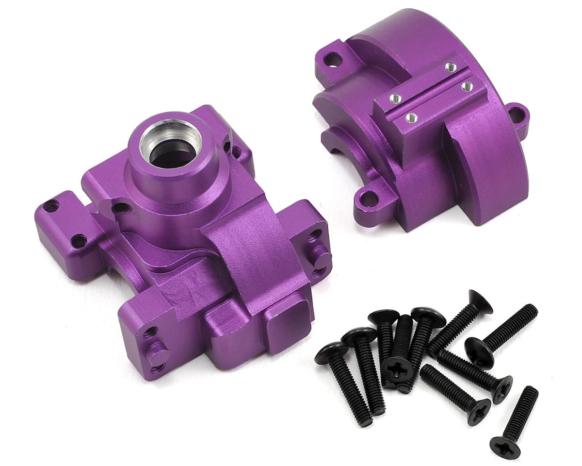 Redcat Racing Aluminum Front/Rear Differential Housing (Purple)
