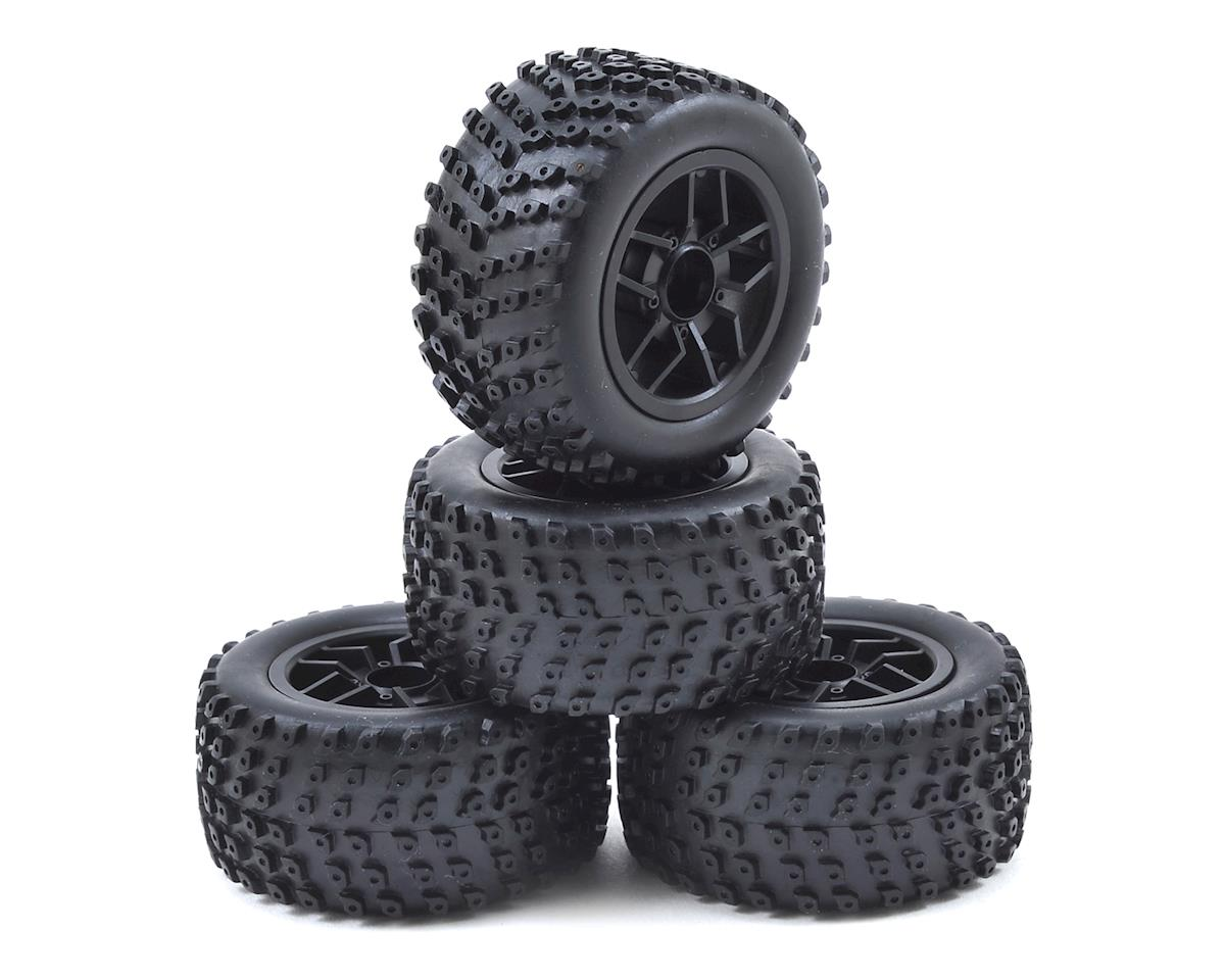 Pre-Mounted Sumo Truggy Tire (4) by Redcat