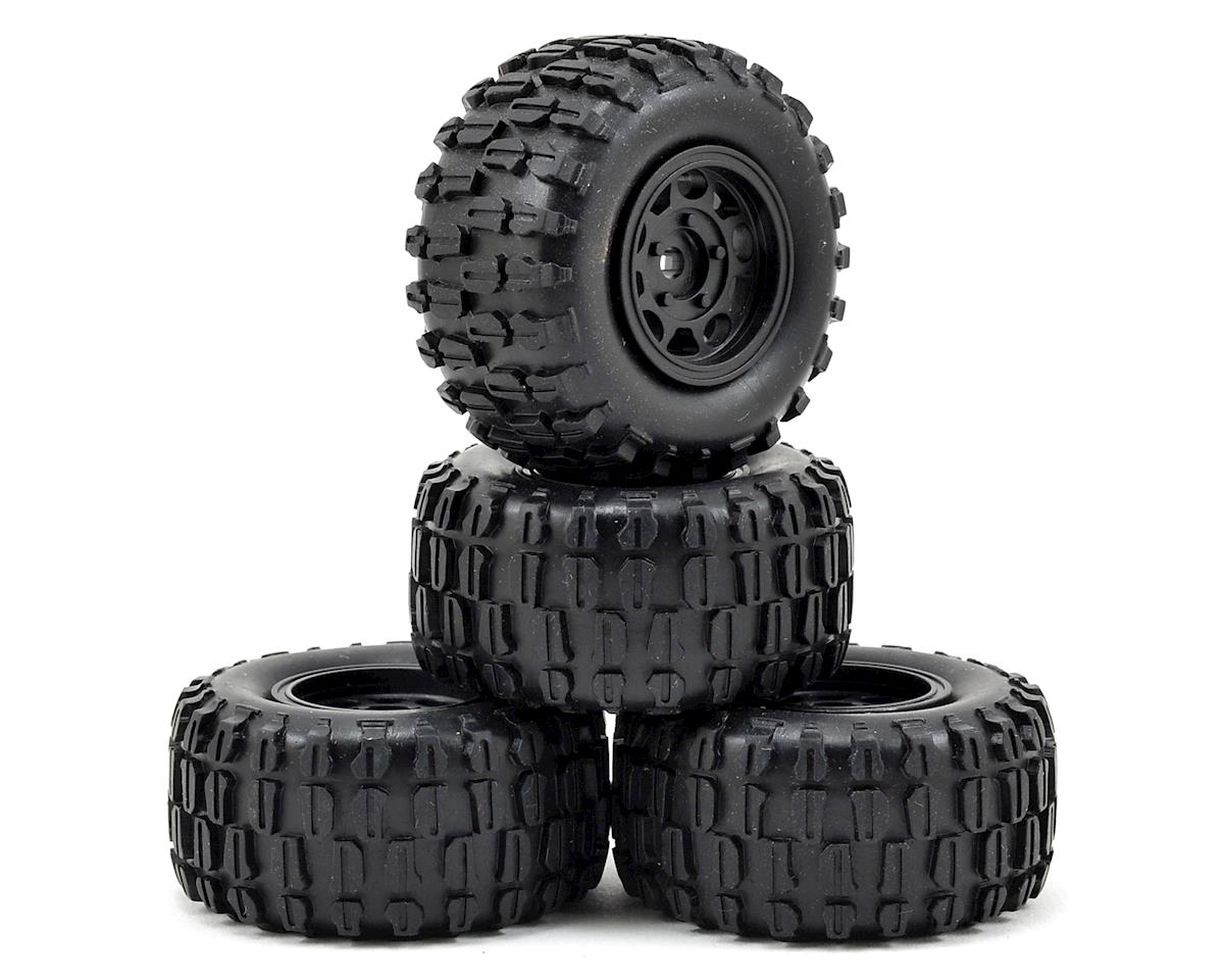 Pre-Mounted Sumo Truck Tire (4) by Redcat Racing