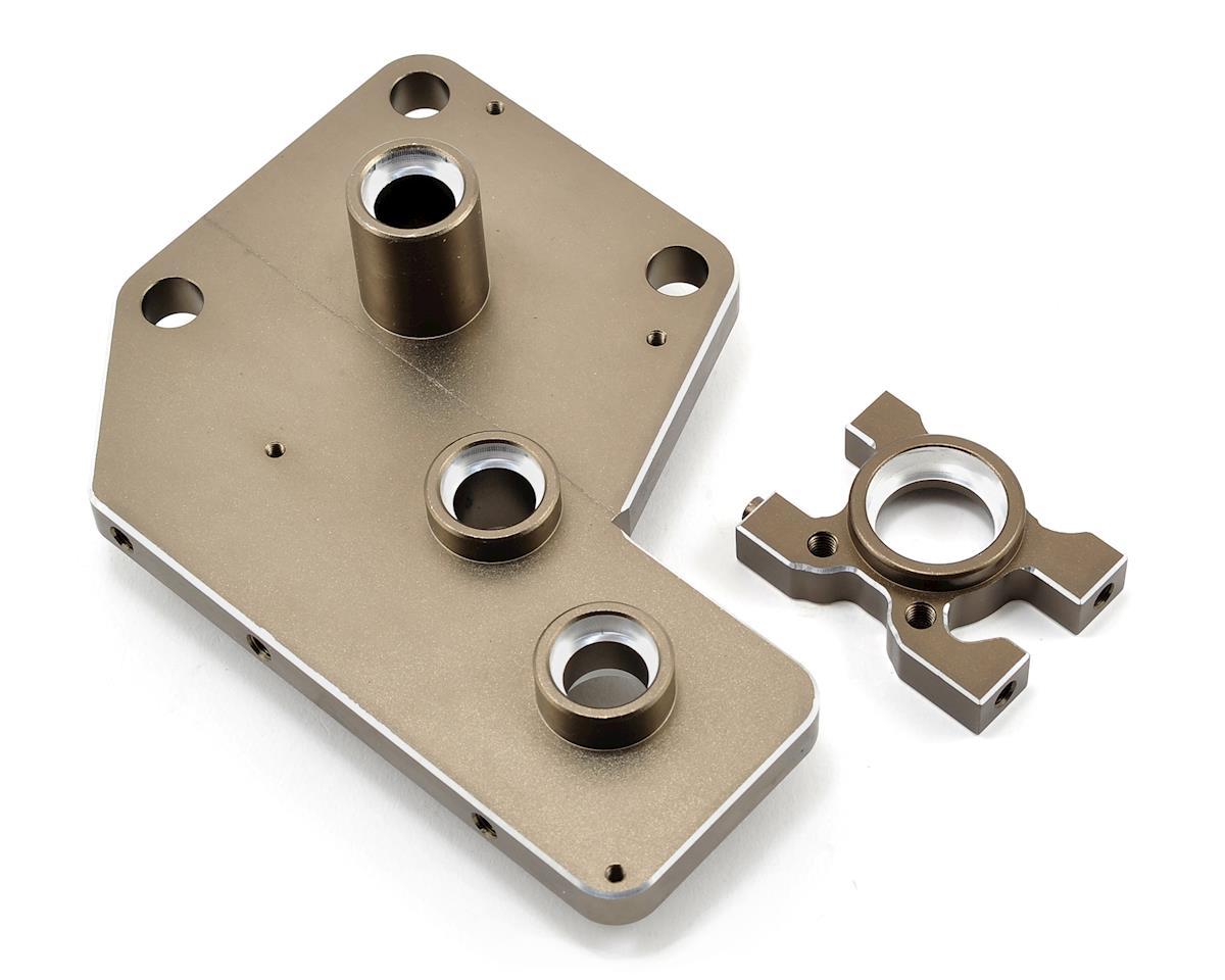 Redcat Aluminum Differential Mount Set (Gun Metal)