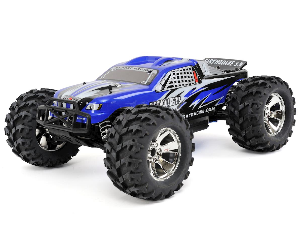 Redcat Racing Earthquake 3.5 1/8 RTR 4WD Nitro Monster Truck (Blue)