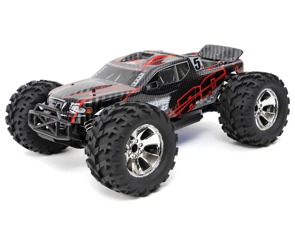 Earthquake 3.5 1/8 RTR 4WD Nitro Monster Truck (Red) by Redcat