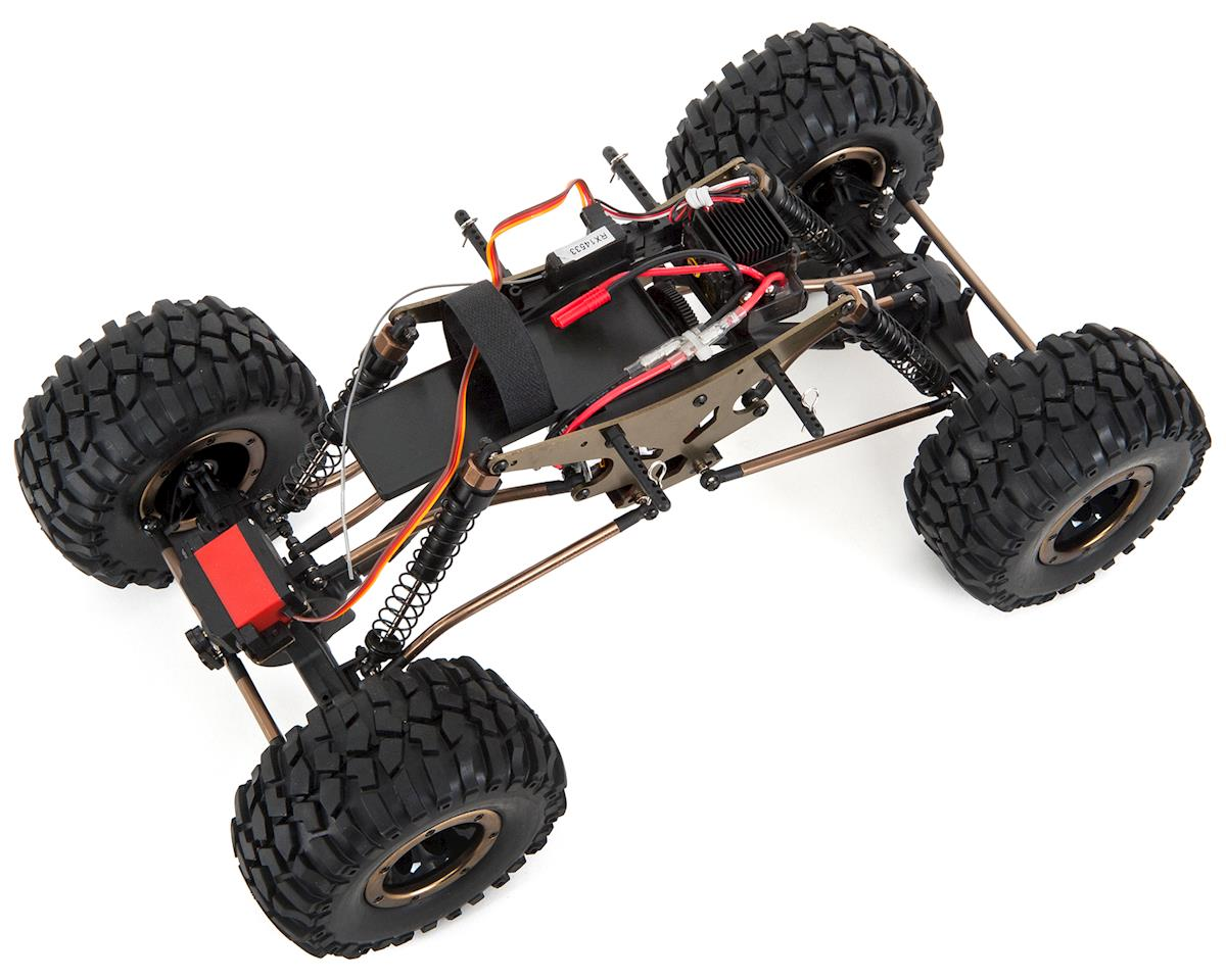 Redcat Everest-10 1  10 4wd Rtr Electric Rock Crawler  Rereverest-10-red