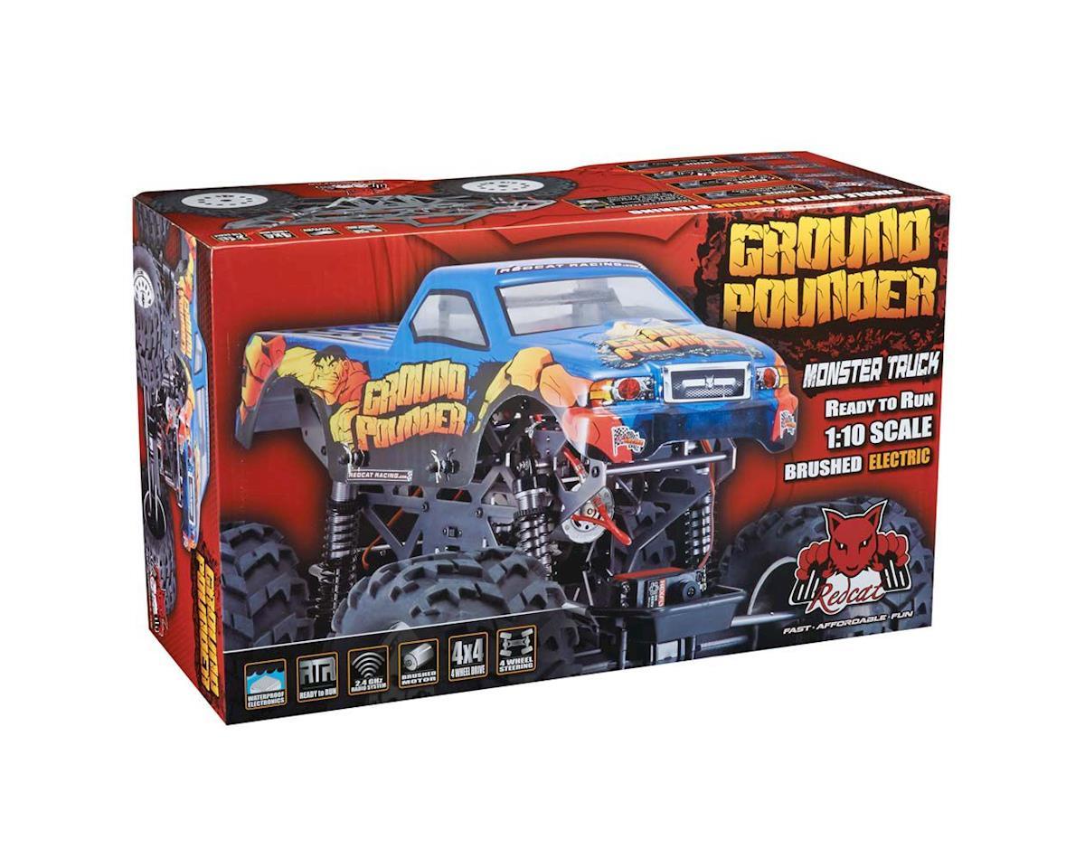 Redcat GRNDPNDR-GM-AMS Grnd Pounder 1/10 Mnstr Trck Amsoil Bod