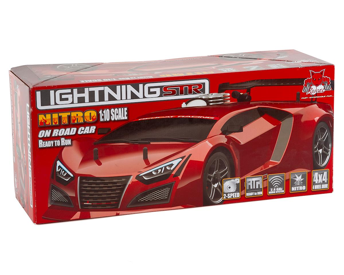 Image 7 for Redcat Lightning STR-R 1/10 4WD Nitro Sedan RTR