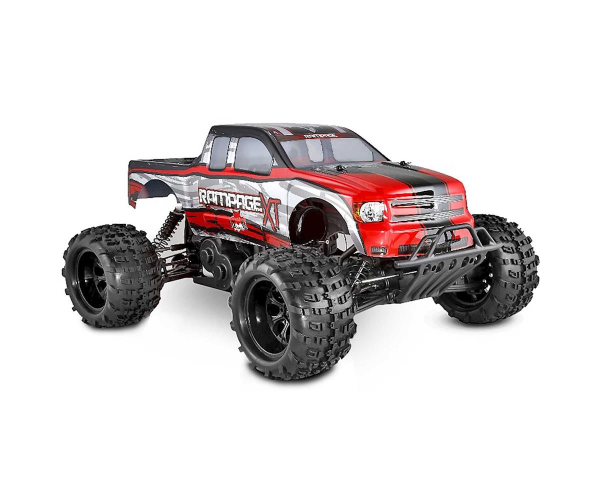 RAMPAGE-XT-RED 1/5 Rampage XT Gas Truck Red by Redcat  Review