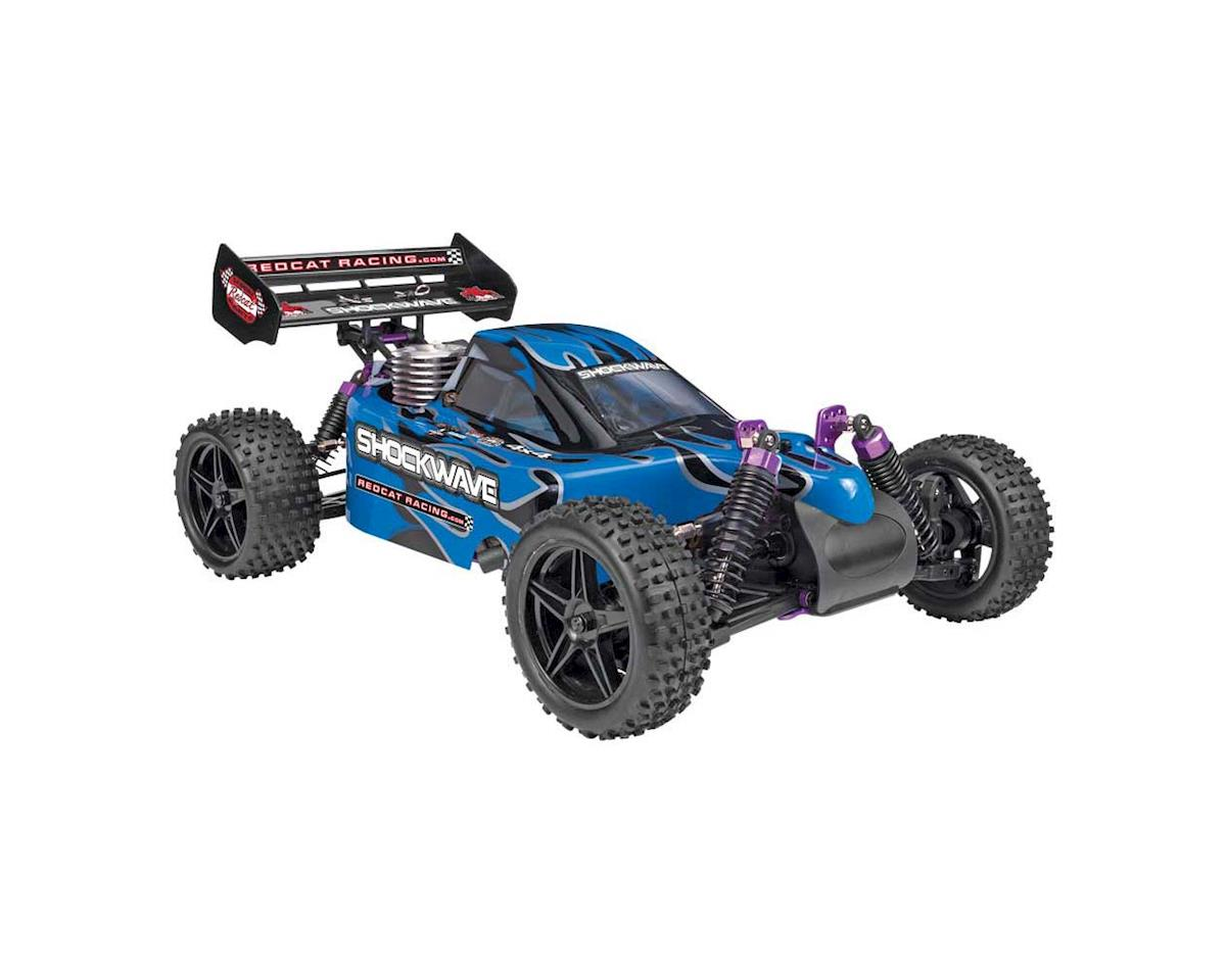 Redcat SHOCKWAVE-BLUE Shockwave Buggy 1/10 Nitro Blue
