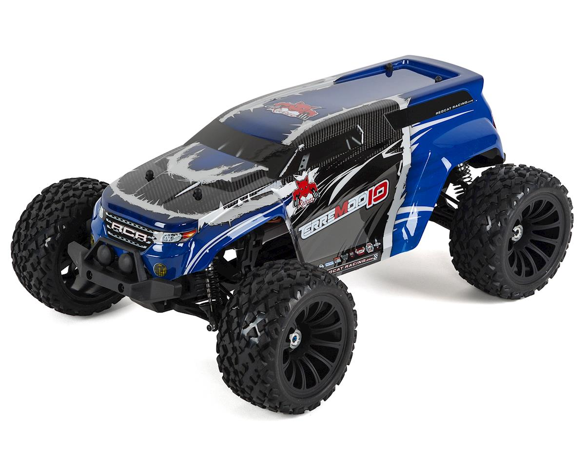 Redcat Terremoto-10 V2 Brushless 1/10 Monster Truck (Blue)
