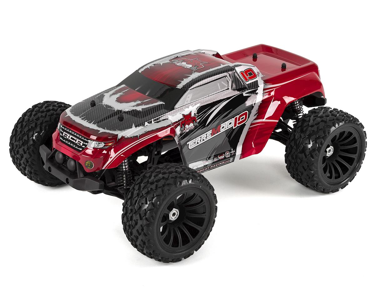 Redcat Terremoto-10 V2 Brushless 1/10 Monster Truck (Red)