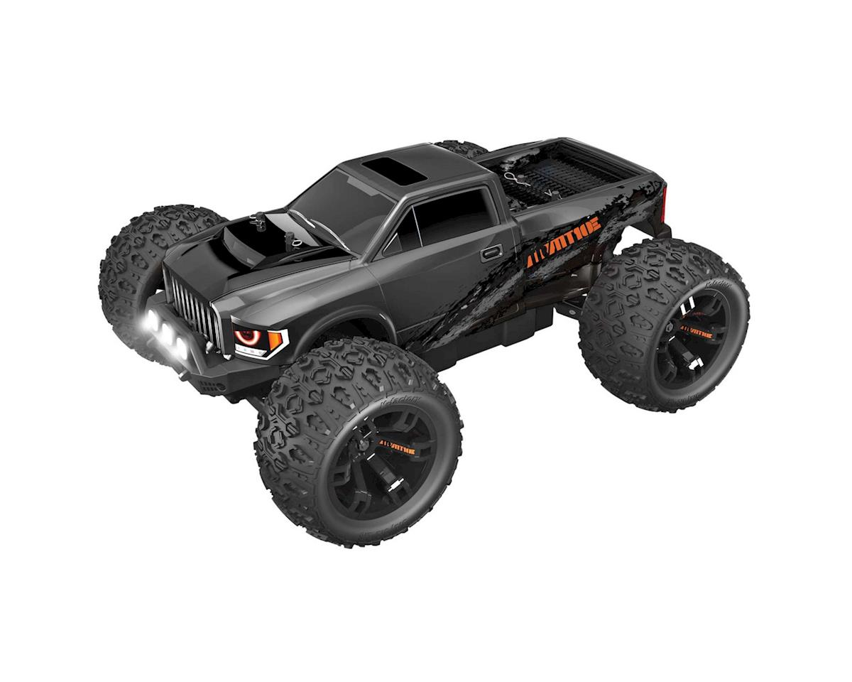 "Redcat TR-MT10E ""Team Redcat"" 1/10 RTR 4WD Brushless Monster Truck (Gun Metal)"