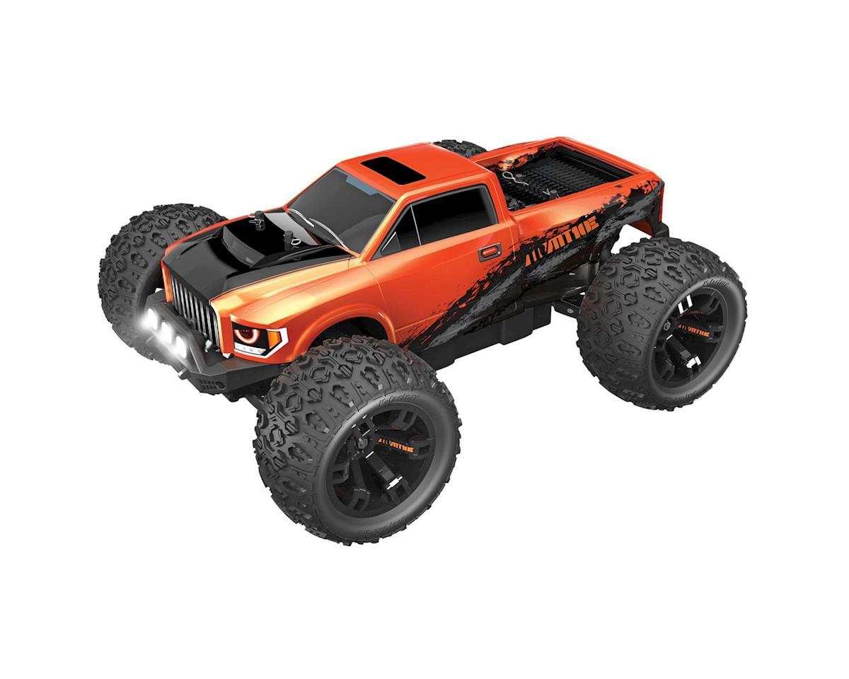 """Redcat TR-MT10E """"Team Redcat"""" 1/10 RTR 4WD Brushless Monster Truck (Orange)"""