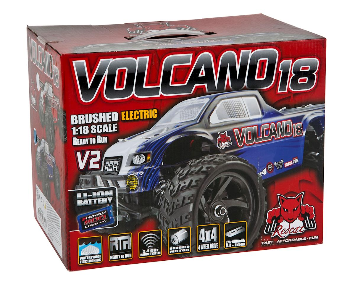 Redcat Racing Volcano-18 V2 1/18 4WD Electric Monster Truck
