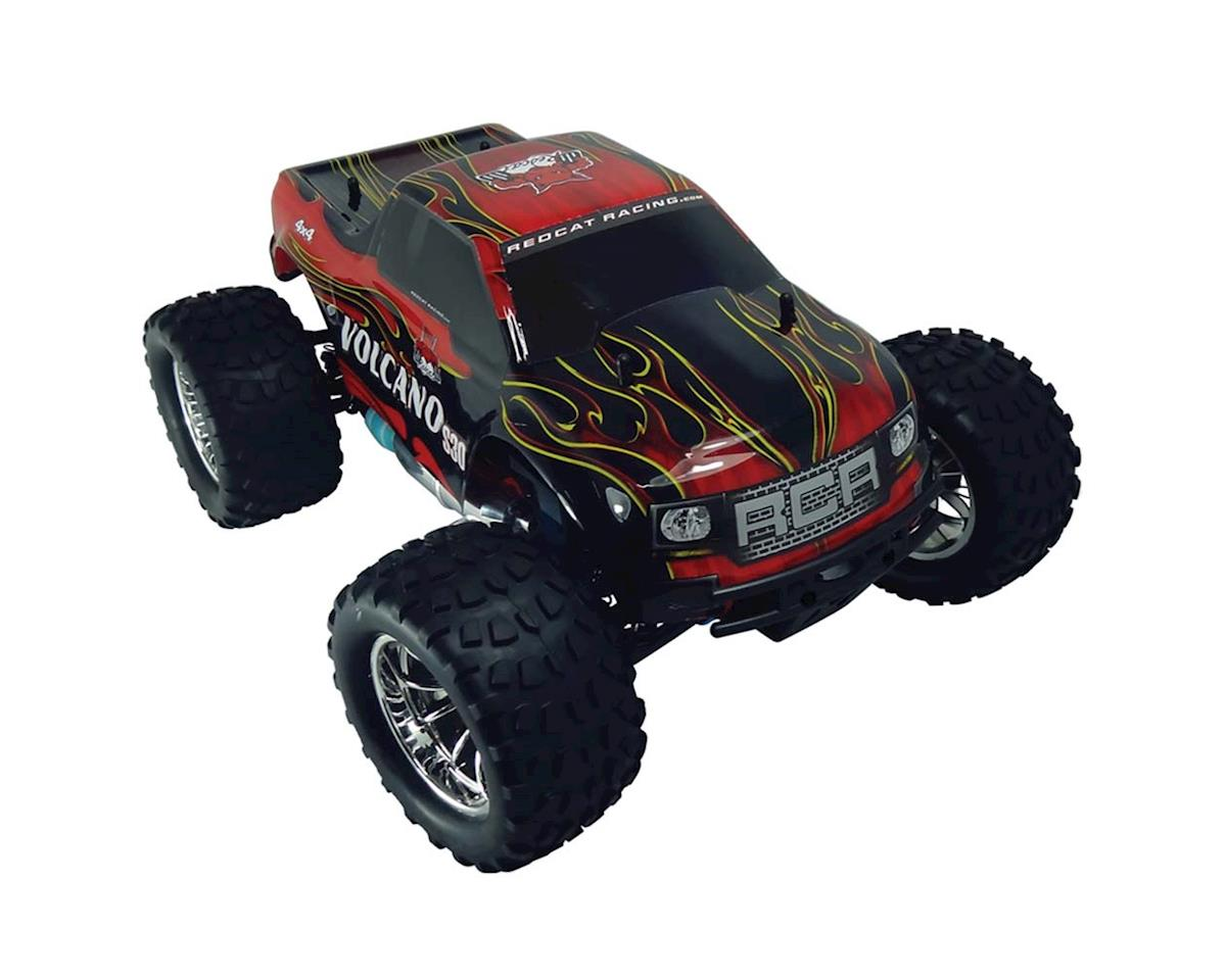Volcano S30 Truck 1/10 Nitro Red by Redcat
