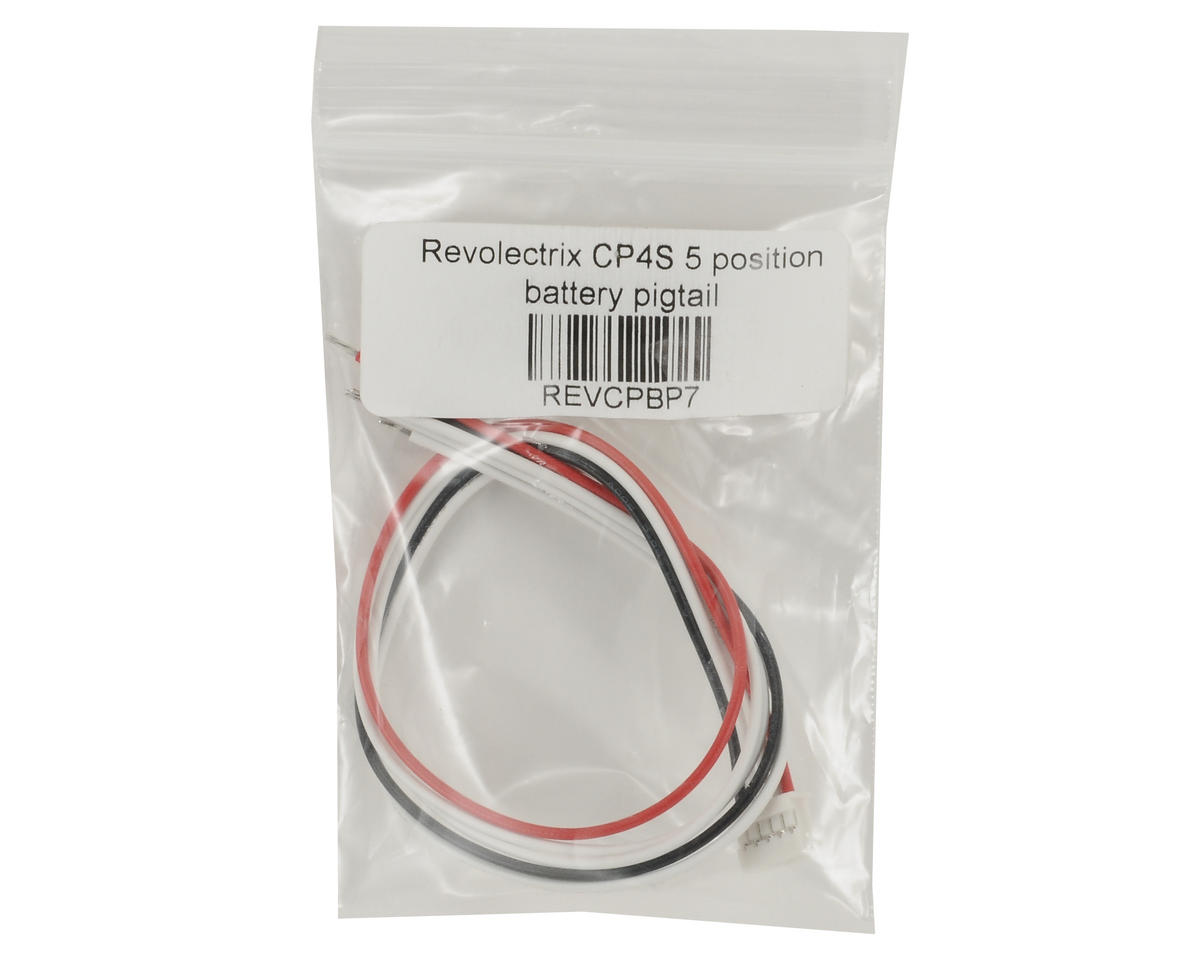 """Revolectrix Cellpro 4S 10"""" 5 Position Battery Pigtail (Cellpro)"""