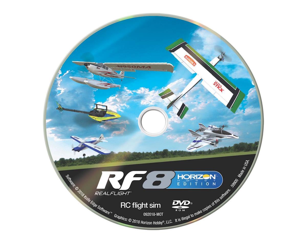 RealFlight 8 Horizon Edition Flight Simulator w/Interlink-X