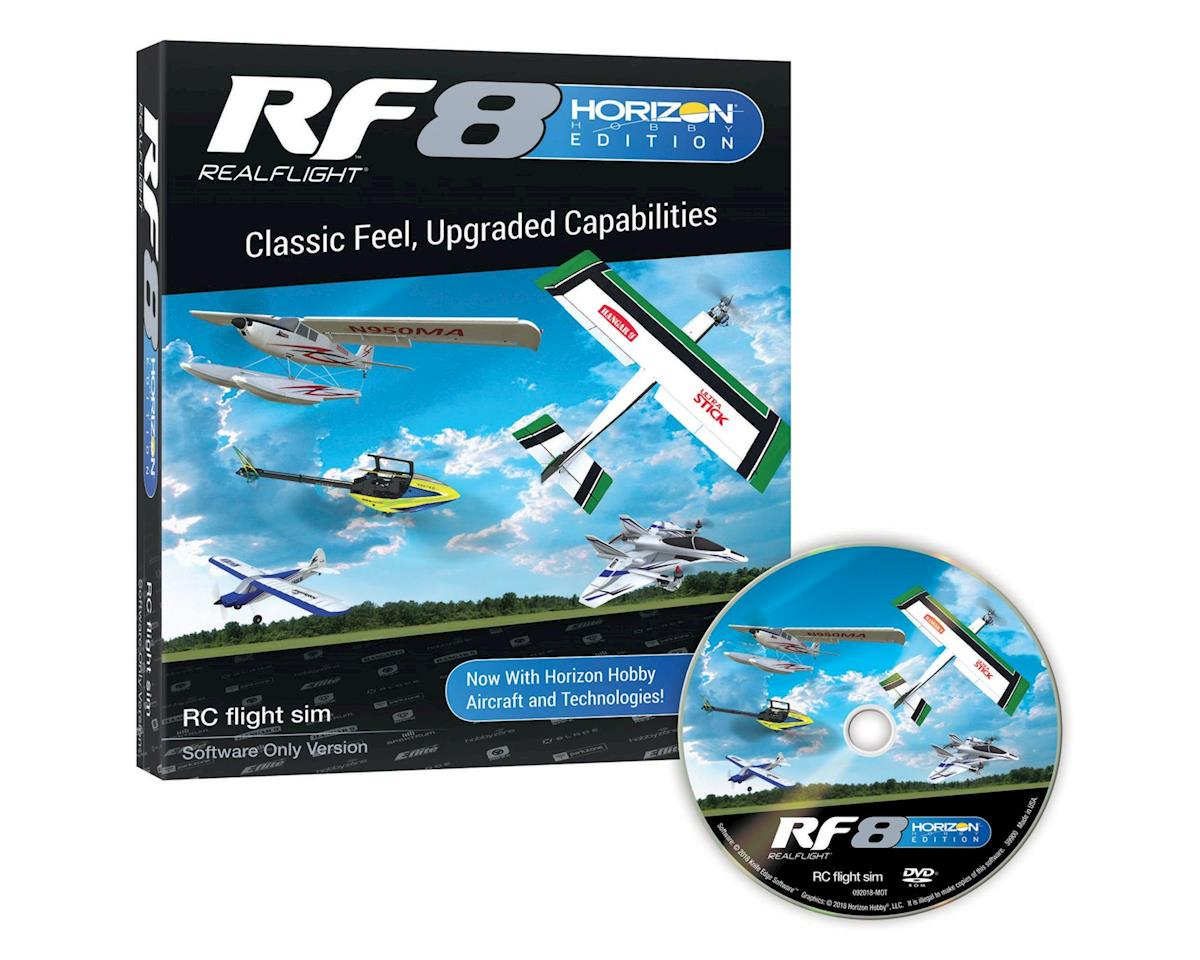 RealFlight 8 Horizon Edition Flight Simulator (Software Only)