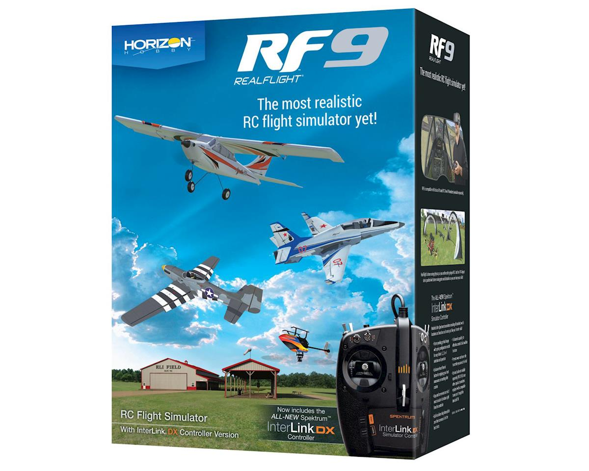 RealFlight 9 Flight Simulator w/Spektrum Transmitter