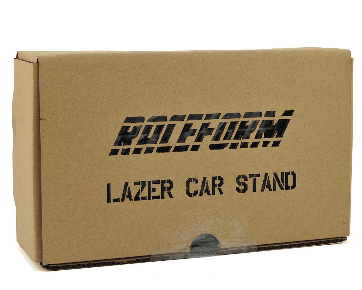 Raceform Lazer Car Stand (Gun Metal)