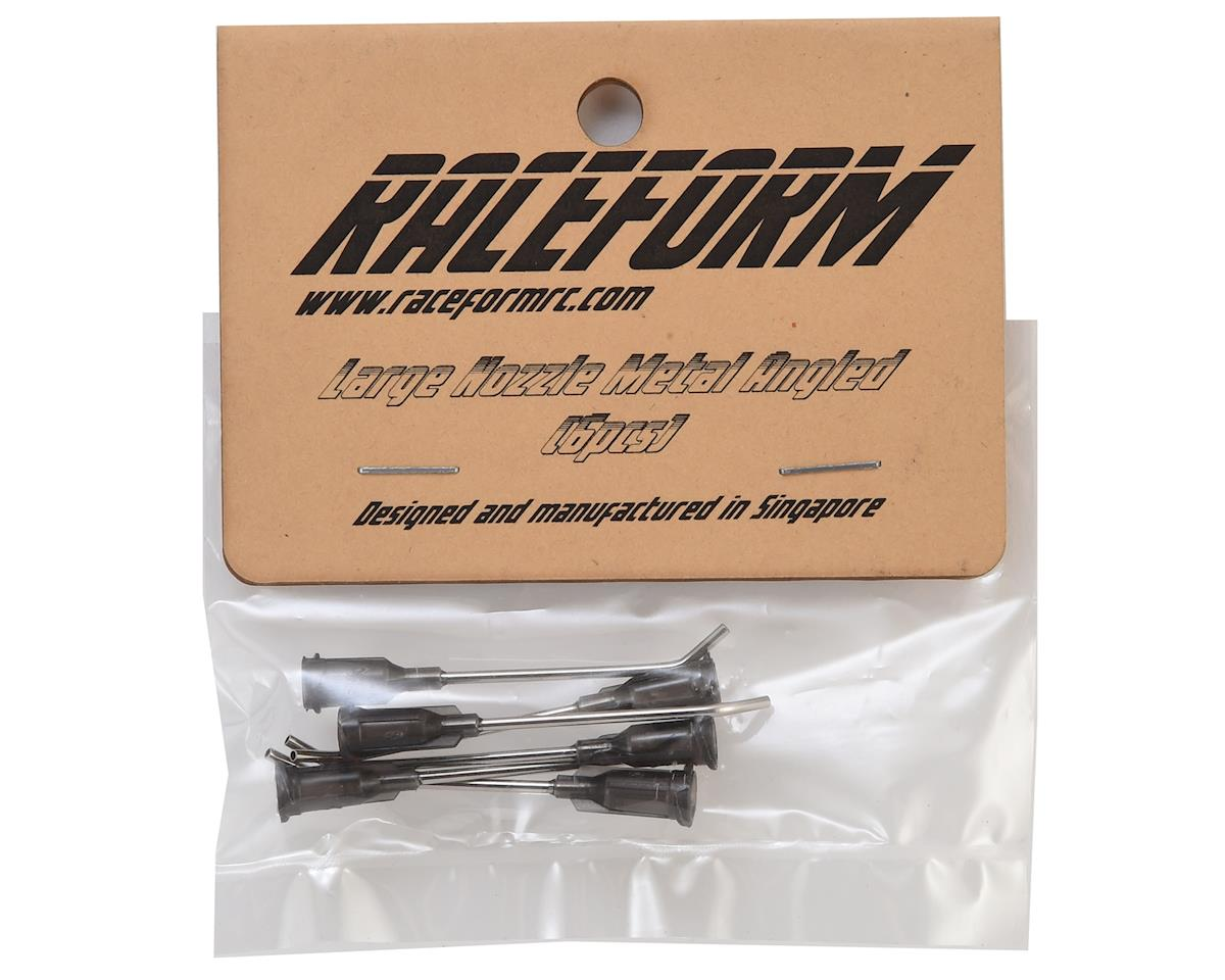 Raceform Metal Angled Tire Gluing Nozzle (Grey - for Thick CA) (6)