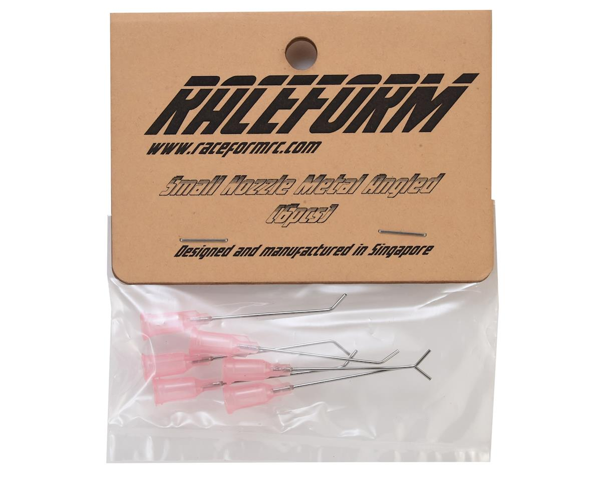 Raceform Metal Angled Tire Gluing Nozzle (Pink - for Water Thin CA) (6)