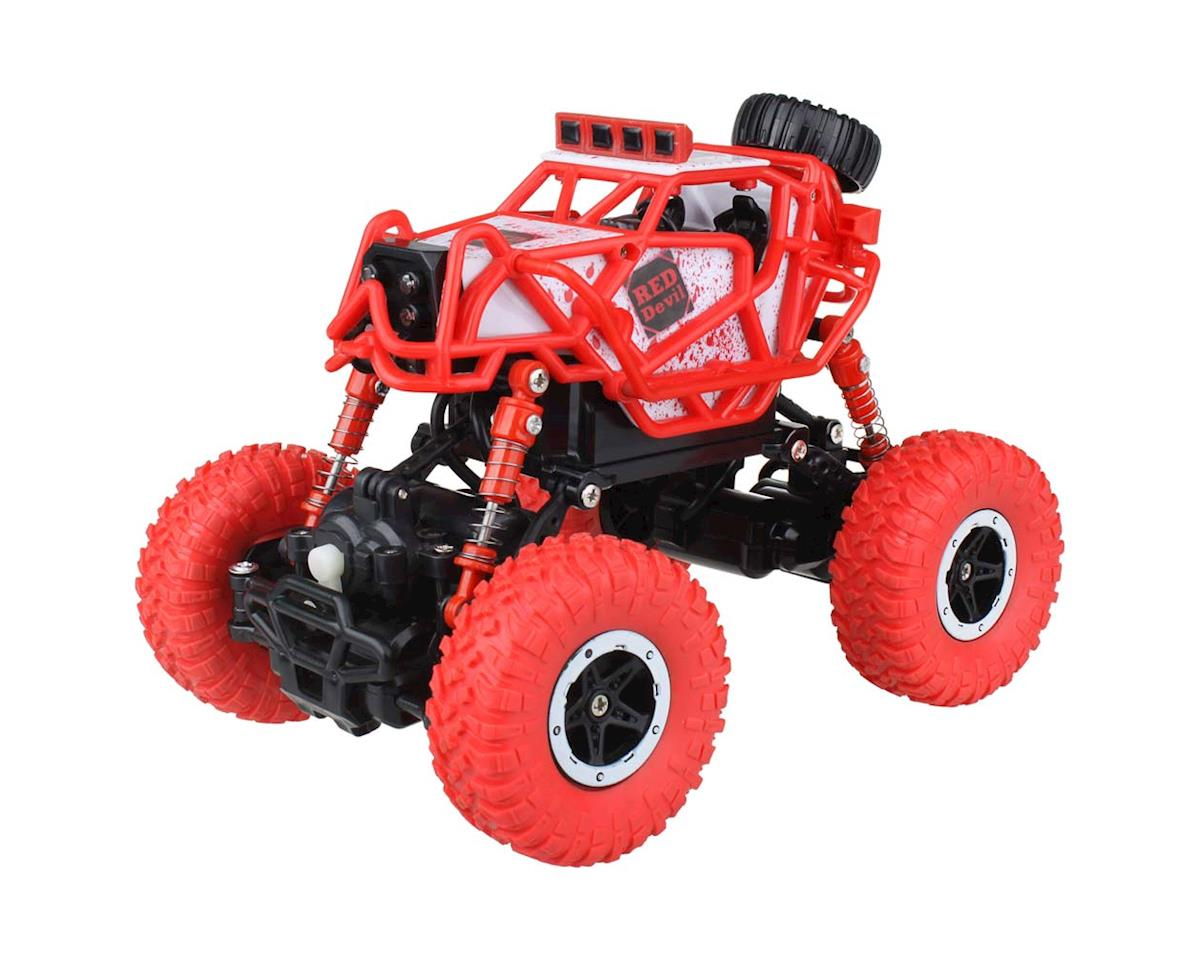 RC Fun RFND01** 1/32 Micro Rock Crawler 4WD 2.4G Red