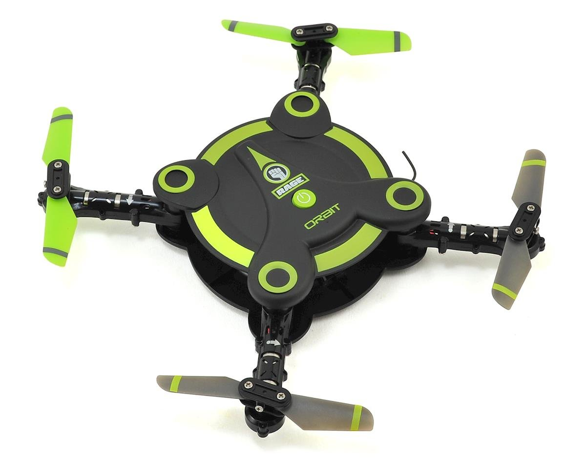 Orbit FPV RTF Pocket Micro Electric Quadcopter Drone by RAGE